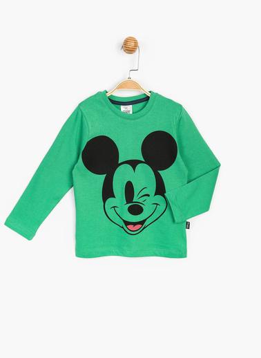 Mickey Mouse Sweatshirt Yeşil
